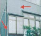 壁と壁のつなぎ目イメージ
