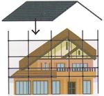 カバー工法のイメージ